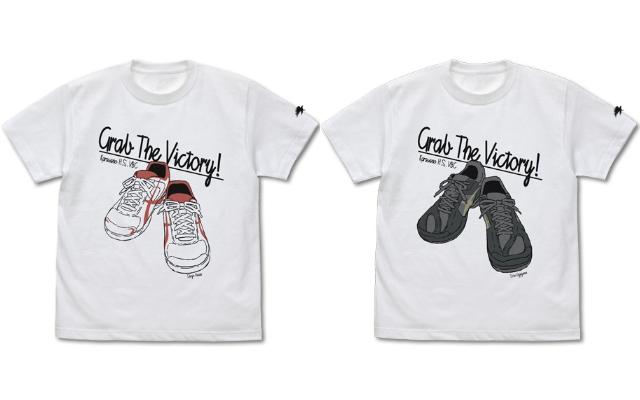 『ハイキュー!!』日向&影山のシューズがデザインされたTシャツ登場!袖のカラスがワンポイント
