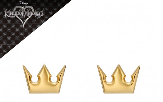 『キングダムハーツ』ソラが身に着けているネックレスの王冠 & ハートモチーフのピアスが登場!