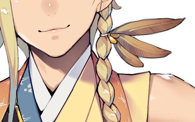『刀剣乱舞』新刀剣男士のビジュアルが一部公開!金髪のヘアスタイル&袖が無い和装に「トロピカル感」の声