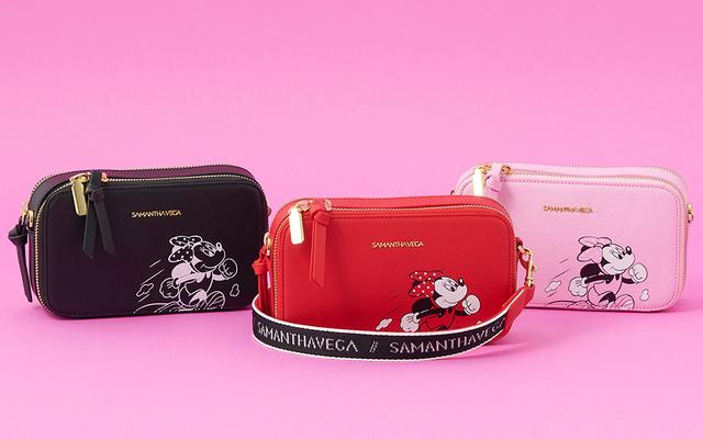 「ディズニー」x「サマンサベガ」スポーティーテイストの「ミニーマウス コレクション」登場!バッグ・チャーム・ジャージなど