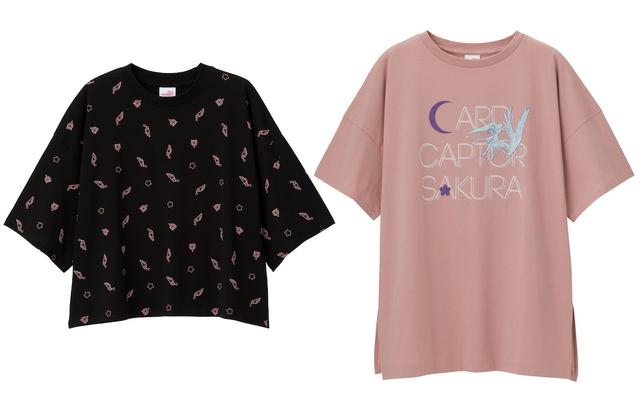 """『CCさくら』x「GU」鍵や杖がデザインされた""""Tシャツコレクション""""販売!クロップドTシャツやチュニックなど"""
