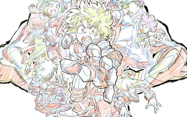 TVアニメ『ヒロアカ』原画集が発売決定!第1期&第2期の原画を収録した2冊が鋭意制作中