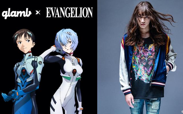 『エヴァ』キャラがスタイリッシュに描かれたTシャツ&フーディが登場!アパレルブランド「glamb」と初コラボ