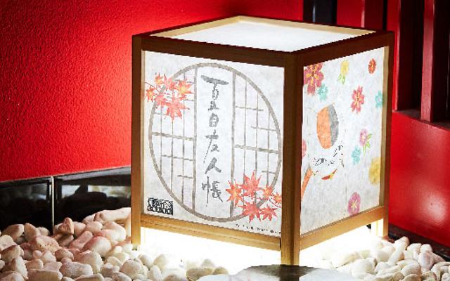 『夏目友人帳』ニャンコ先生が大胆にデザインされた「行燈」発売決定!お部屋で雅な雰囲気を楽しもう
