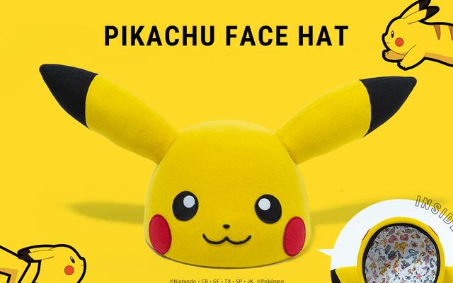 『ポケモン』ピカチュウの顔を再現したハットが登場!帽子ブランド「CA4LA」コラボアイテムが可愛すぎる