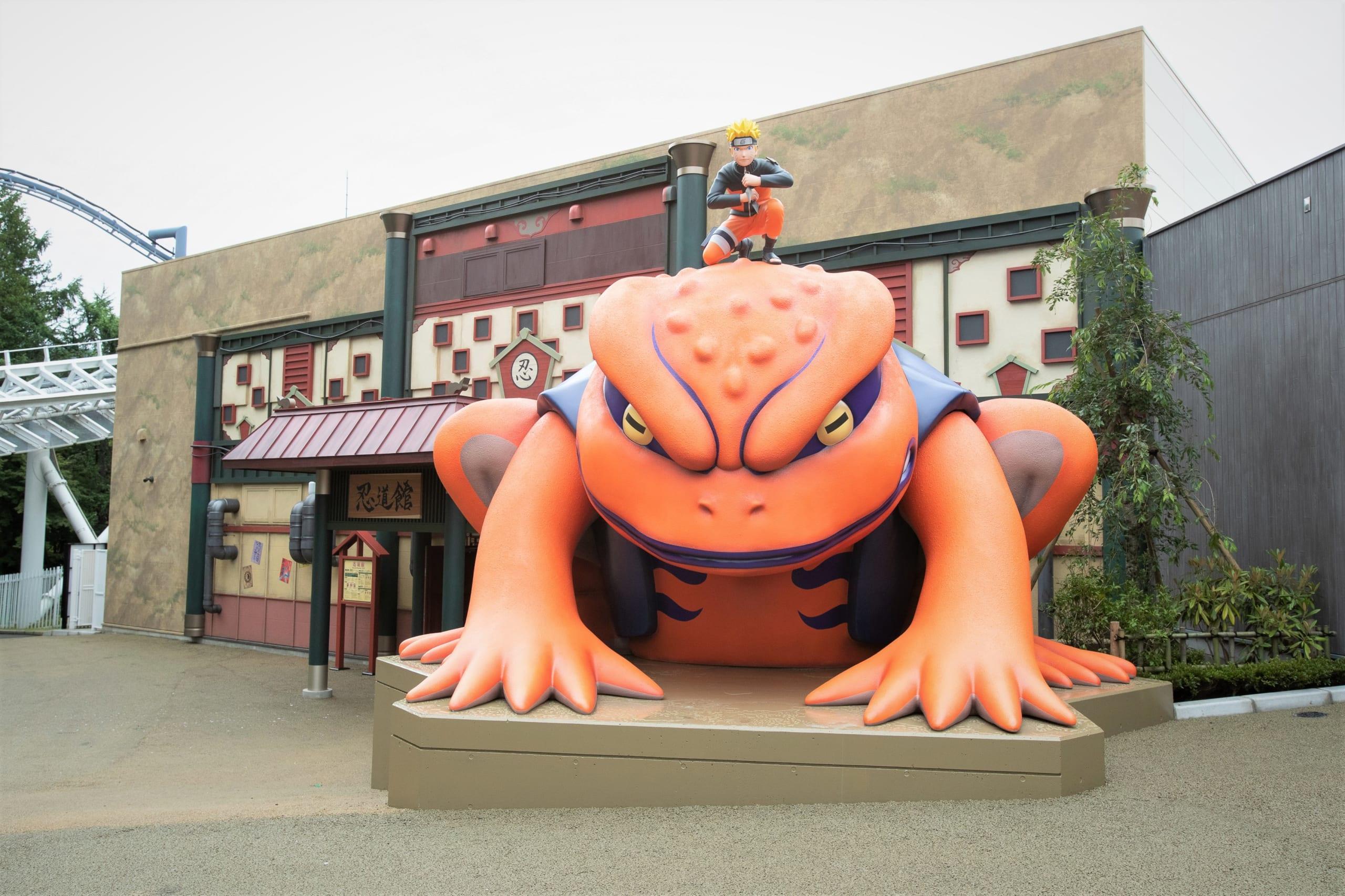日本に2箇所の「NARUTO」テーマパークが初タッグ!富士急ハイランド×ニジゲンノモリ「里めぐりキャンペーン」開催