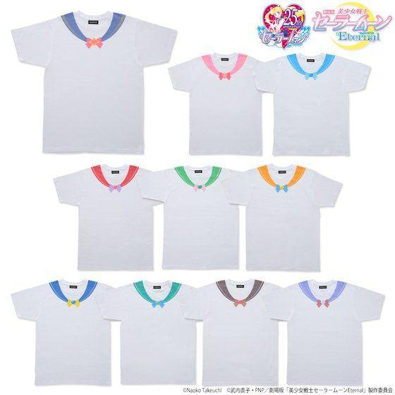 劇場版『美少女戦士セーラームーン』なりきりセーラーTシャツが登場!日常使いもできるシンプルなデザイン