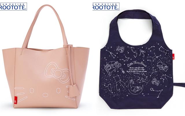 『サンリオ』×「ROOTOTE」コラボバッグ登場!外側についたポケットが便利で衛生的なエコバッグに注目