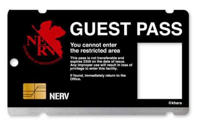 『エヴァ』これであなたも組織関係者!ICカードをカスタマイズ可能なNERV&WILLEのゲストパスケースが登場