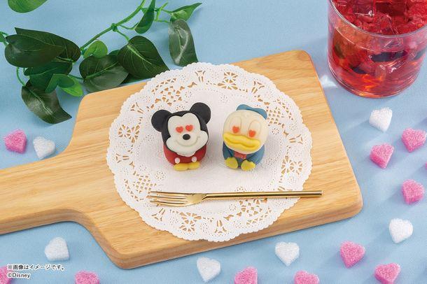 『ディズニー』×「食べマス」目がハートのミッキー&ドナルドが新登場!全国のセブンイレブンにて順次発売