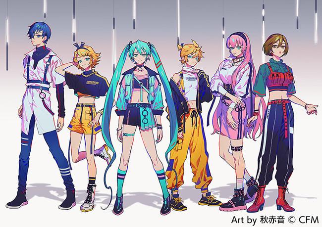 初音ミクの13周年記念「アイドル」がテーマの新規描き下ろし4種登場!可愛いからカッコイイまで様々な表情を魅せる