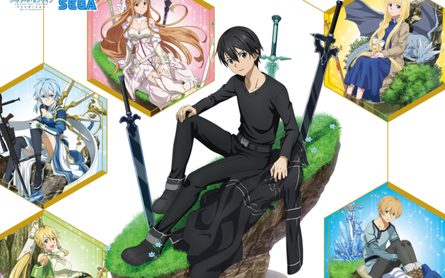 TVアニメ『SAO』セガコラボカフェ開催決定!作品をイメージしたメニューや限定ノベルティが登場
