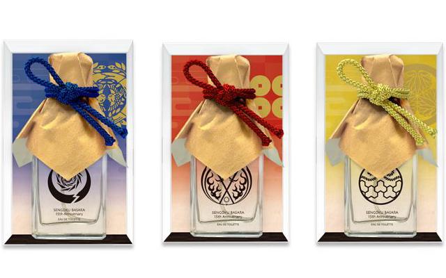 『戦国BASARA』15周年でシリーズ初の武将イメージの香水も登場!カプコンカフェで販売されるグッズ公開