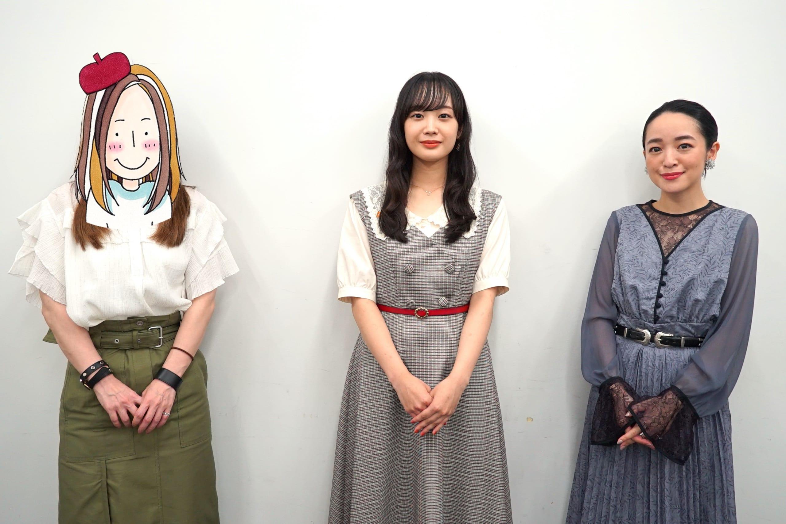アニメーション映画『ふりふら』潘めぐみさん・鈴木毬花さん・咲坂伊緒先生の3名で女子会トーク!理央と和臣、選ぶならどっち?【インタビュー】