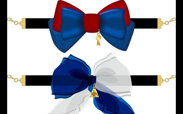 『名探偵コナン』ヘアアクセ感覚で使用できる「マスクフック」登場!イメージカラーの大きなリボンが華やか