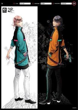 『ツキプロ』ユニット合同企画・近未来が舞台の「2P lockout」始動!アイドルたち瓜二つのアバターイラスト公開