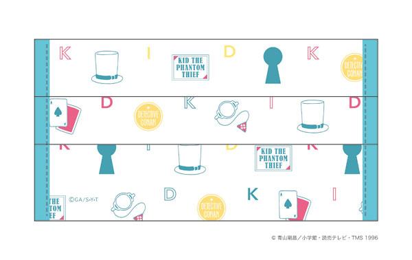 『名探偵コナン』マスクカバー登場!キッド・赤井・安室などなどアイコンデザイン10種パターン