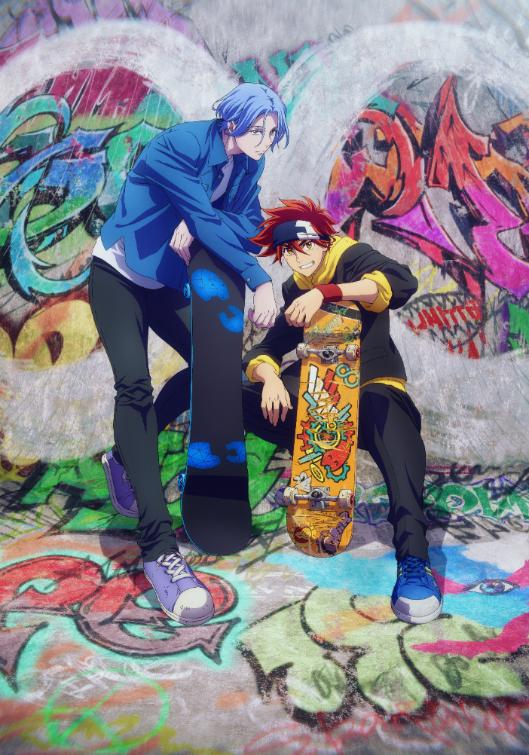 スケボーバトルを描く「SK∞ エスケーエイト」来年1月より放送決定!内海紘子さん&ボンズら豪華スタッフによる青春オリジナルアニメーション!