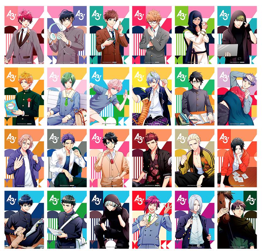 『A3!』カラフルなポストカードがもらえるアニメイトフェア開催決定!「満開Encore」「開花の祝宴」の新グッズも続々登場