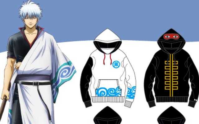 『銀魂』x「ドン・キホーテ」コラボパーカーが販売決定!銀さんの着流しやエリザベスがデザインされた全6種