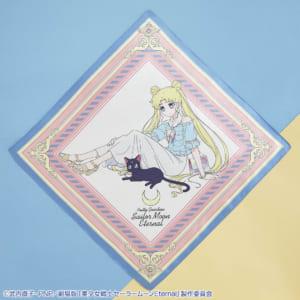 一番くじ 劇場版「美少女戦士セーラームーンEternal」~Happy Girls Collection~ A賞 うさぎとルナのアートスカーフ