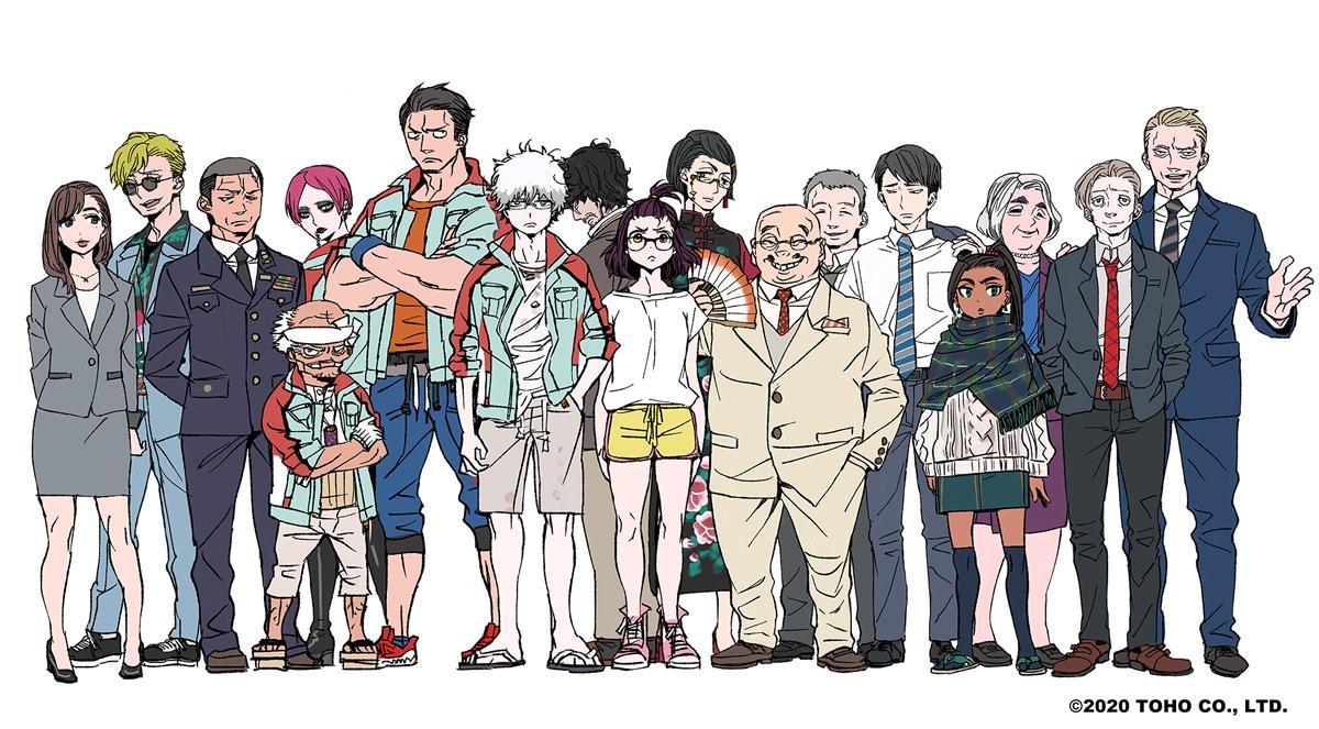 『青エク』加藤和恵先生がキャラ原案のTVアニメ『ゴジラ S.P』2021年4月放送決定!制作はボンズとオレンジの最強タッグ