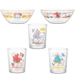 「一番くじ リラックマ~JUICYジェラートショップ~」F賞 選べるガラスコレクション