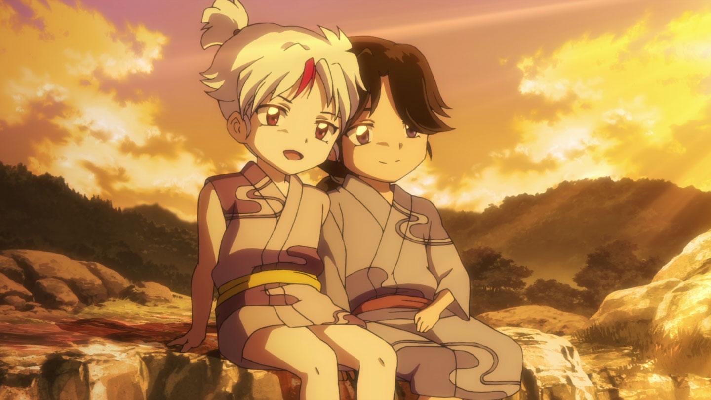 TVアニメ『半妖の夜叉姫』第2話感想 戦国時代からタイムスリップし現代を生きるとわ!せつな・もろはも現代に飛ばされてしまい…!?