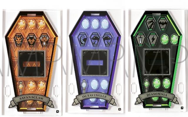 『ツイステ』お手持ちのアクスタをかわいく飾れる「カスタマニア」登場!宝石や各寮モチーフの豊富なパーツで彩ろう