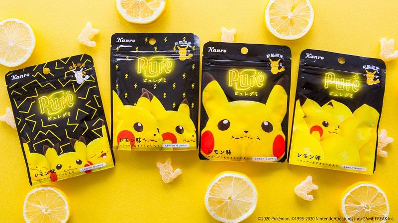 『ポケモン』×「ピュレグミ」コラボ第3弾!定番レモン味がピカチュウパッケージで登場&オリジナルグッズ当たるキャンペーン開催