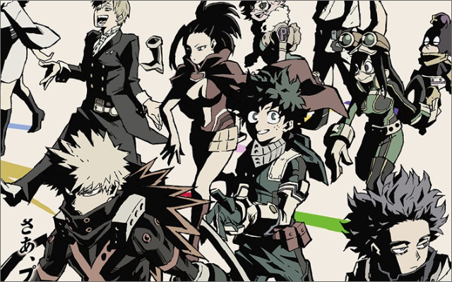 TVアニメ『ヒロアカ』第5期2021年春放送開始!注目のキャラたちの姿も描かれたキービジュアル&最新PV解禁