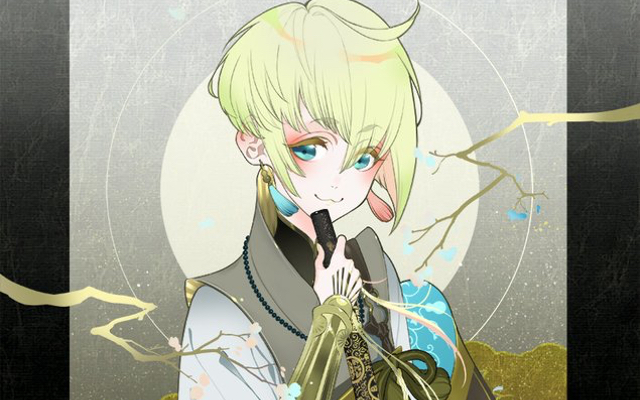 「刀剣乱舞」新刀剣男士・太閤左文字の実装記念描き下ろしイラストが到着!むにゅっとしたお口&ニンマリ顔があざ可愛い