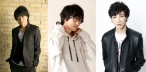 左から浪川大輔さん・寺島拓篤さん・廣瀬大介さん
