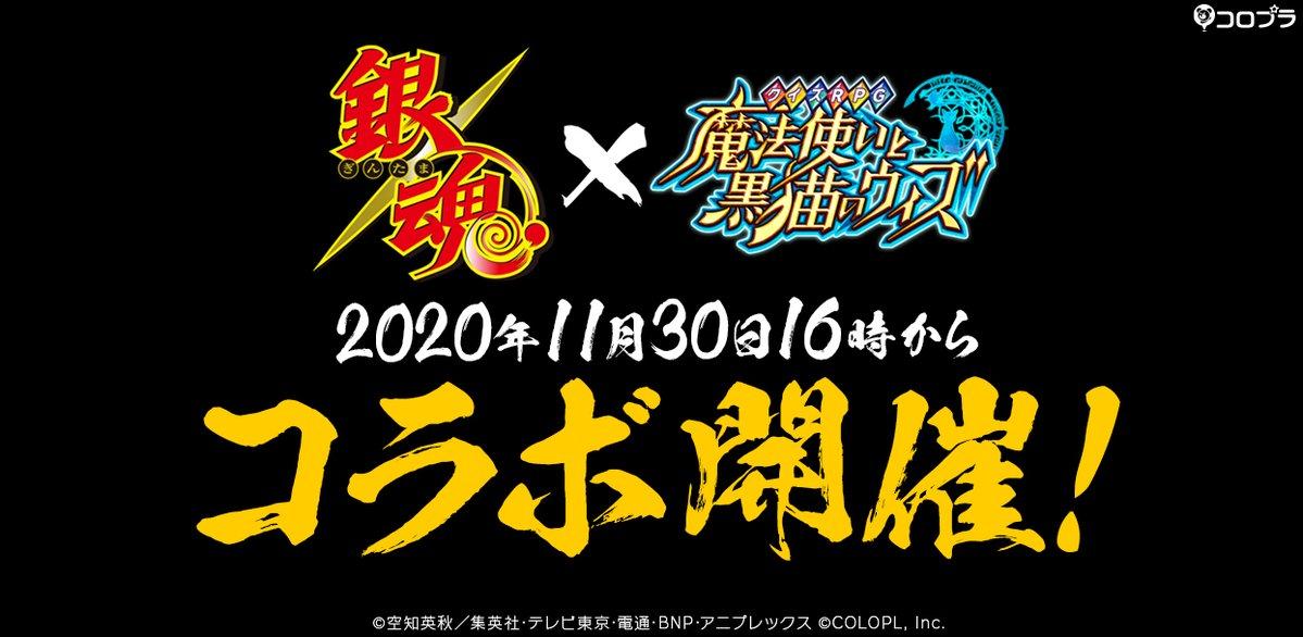 「銀魂」×「黒ウィズ」コラボ開催決定ィィ!ティザーPVではクイズを考える万事屋メンバーが登場