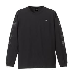 ロングスリーブTシャツ ブラック