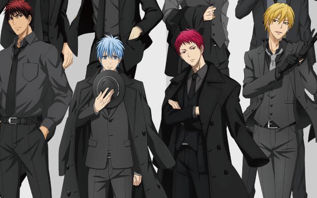 「黒子のバスケ」黒子・火神・キセキの世代らの黒スーツ姿が尊い!描き下ろしを使用したグッズが登場する期間限定ショップ開催