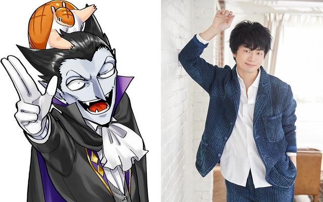 TVアニメ「吸血鬼すぐ死ぬ」2021年に放送決定!ドラルク役が福山潤さん、ロナルド役が古川慎さんに決定