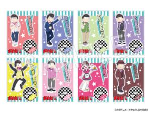 「おそ松さん」×「Animax Cafe+」コラボカフェ「おそ松さんDINER」グッズ アクリルスタンド(全8種):1,200円(税抜)