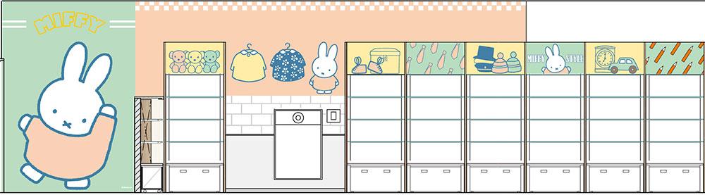 「miffy style」心斎橋パルコ店が11月20日にオープン!限定商品としてアメカジ姿のミッフィーグッズが発売