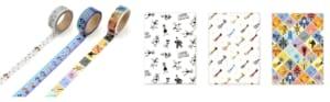 マスキングテープセット A  ●クリアファイル 全3種