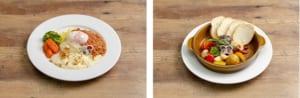 黒子と火神の焼かないミートドリア、青峰と今吉のディップして食べるサバのアヒージョ風 ~バゲット添え~