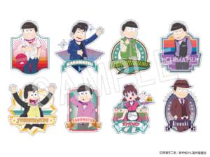 「おそ松さん」×「Animax Cafe+」コラボカフェ「おそ松さんDINER」グッズ ふぉーちゅん☆ステッカー(全8種):600円(税抜)