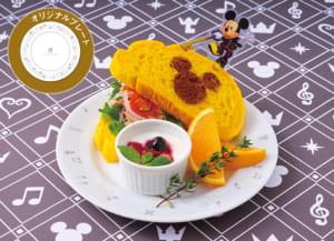 <王様(ミッキー)>王様のツナサンド  1,399円/プレート付き+2,000円