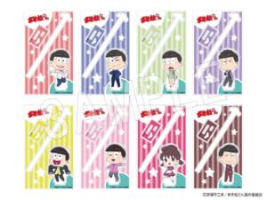 「おそ松さん」×「Animax Cafe+」コラボカフェ「おそ松さんDINER」グッズ ふぉーちゅん☆アクリルスタンドマドラー 50's Ver.(全8種):700円(税抜)