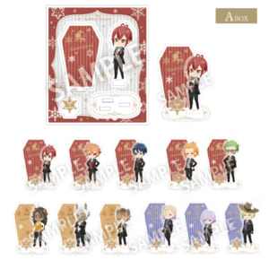 「ディズニー ツイステッドワンダーランド」アクリルスタンド・コレクション 全22種 各¥800(税抜)【A box】