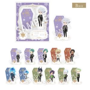 「ディズニー ツイステッドワンダーランド」アクリルスタンド・コレクション 全22種 各¥800(税抜)【B box】