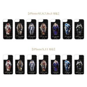 「ディズニー ツイステッドワンダーランド」グリッターiPhoneケース 全7種 各¥2,680(税抜)