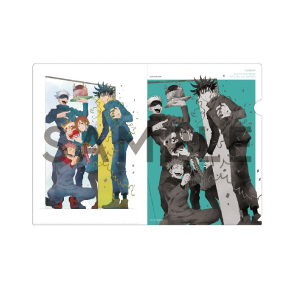 TVアニメ「呪術廻戦」伏黒恵の誕生日記念限定グッズ A4クリアファイル