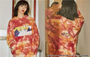 劇場版「美少女戦士セーラームーンEternal」×jouetie シーンタイダイフーディ