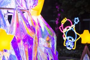 キキ&ララ「TWINKLE COLOR CHRISTMAS」 ミラーボールの反射でキキ&ララカラーがさらに輝きます